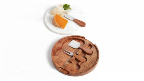 """<strong>Marble Topped Cheese Board & Cheese Knives ($49; </strong><a href=""""https://click.linksynergy.com/deeplink?id=Fr/49/7rhGg&mid=1237&u1= 0219vdaygiftguide&murl=https%3A%2F%2Fshop.nordstrom.com%2Fs%2Fnordstrom-at-home-marble-topped-cheese-board-cheese-knives%2F4934114"""" target=""""_blank"""" target=""""_blank""""><strong>nordstrom.com</strong></a><strong>)  </strong><br />"""