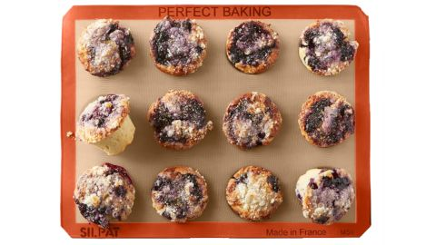 """<strong>Silpat Silicone Muffin Pan ($49.95; </strong><a href=""""https://www.williams-sonoma.com/products/silpat-silicone-muffin-pan-12-well/?cm_src=AutoRel"""" target=""""_blank"""" target=""""_blank""""><strong>williams-sonoma.com</strong></a><strong>) </strong>"""