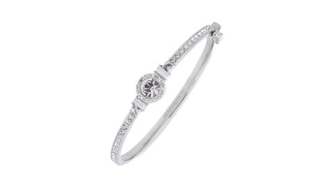 """<strong>Givenchy Crystal Bangle ($43.50; </strong><a href=""""https://click.linksynergy.com/deeplink?id=Fr/49/7rhGg&mid=1237&u1=0219vdaygiftguide&murl=https%3A%2F%2Fshop.nordstrom.com%2Fs%2Fgivenchy-crystal-bangle%2F4618820%3Forigin%3Dcategory-personalizedsort%26breadcrumb%3DHome%252FSale%252FWomen%26color%3Dsilver"""" target=""""_blank"""" target=""""_blank""""><strong>nordstrom.com</strong></a><strong>) </strong>"""