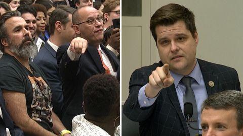 Parkland dads Rep. Gaetz split