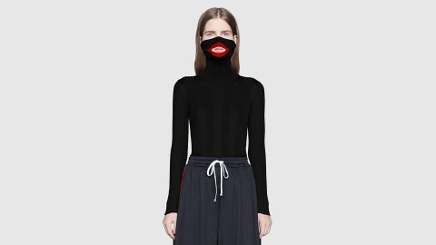 Fashion house Gucci apologize after a controversial jumper caused an outcry. CREDIT: Gucci