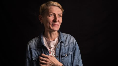 Natalia Isaieva, 40, was born in Russia and now lives in Ukraine. She started as a sex worker at the age of 16 and stopped four years ago. She now campaigns for better rights.<br />