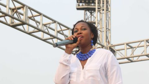 Sierra Leone first lady Fatima Bio is championing a campaign against rape and child marriage.