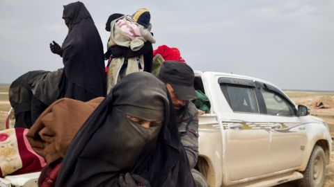 Thousands of people from around the globe flocked to the Islamic State when it was at its height. Now, with its end in sight, theyÕre fleeing.