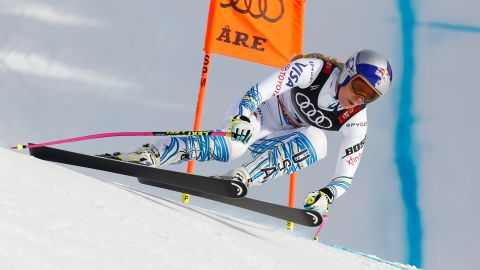Despite her damaged knees, Vonn was able to retire on a positive note. She battled back to win bronze in the downhill -- becoming the oldest woman to secure a medal at a world championships and the first female racer to medal at six world championships.