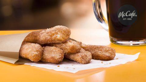 McDonald's introduces Donut Sticks