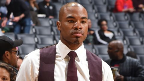 Corey Maggette is seen at the game between the LA Clippers and the New Orleans Pelicans on January 14, 2019.