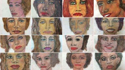 """The FBI released these  portraits drawn by confessed serial killer Samuel Little, a man who claims he's murdered more than 90 people.  He claims the portraits are of his victims.  """"We are hoping that someone -- family member, former neighbor, friend -- might recognize the victim and provide that crucial clue in helping authorities make an identification. Little's drawings have proven quite accurate. Two of his victim portraits were previously disseminated by law enforcement to locals who recognized the women, resulting in their identifications.  We want to give these women their names back and their family some long awaited answers. It's the least we can do."""" The FBI urged anyone with information about the victims to call or email analysts at the bureau's Violent Criminal Apprehension Program at (800) 634-4097."""