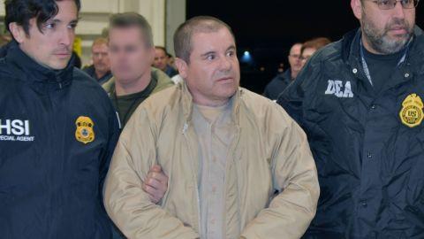 "Joaquin ""El Chapo"" Guzman extradited to the United States"