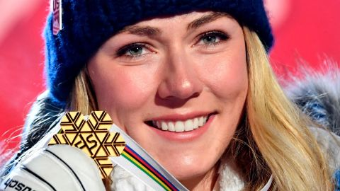 ARE, SWEDEN - FEBRUARY 5: Mikaela Shiffrin of USA wins the gold medal during the FIS World Ski Championships Women's Super G on February 5, 2019 in Are Sweden. (Photo by Alain Grosclaude/Agence Zoom/Getty Images)