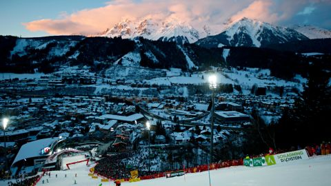 One of the World Cup circuit's most celebrated events is the  night slalom in Schladming, Austria. Thousands of ski racing fans line the slope to watch the world's best compete under floodlights. Local hero Marcel Hirscher triumphed again this year.