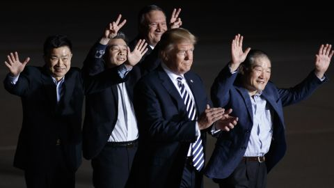"""Months of planning and negotiating took place before the first summit. A low point occurred a year before when <a href=""""https://www.cnn.com/2017/06/13/politics/otto-warmbier-north-korea-release-tic-toc/index.html"""" target=""""_blank"""">North Korea sent home Otto Warmbier,</a> an American college student it had jailed. He never regained consciousness after arriving back in the US, and later died. Trump and Kim traded insults about missile tests. But Trump remained open to a meeting. A high point came when North Korea <a href=""""https://www.cnn.com/politics/live-news/north-korea-american-prisoners/index.html"""" target=""""_blank"""">freed three Amer"""