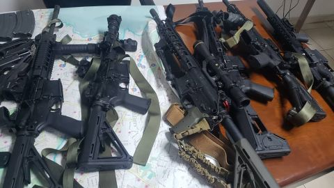 """Haitian Police Chief Michel-Ange Gédéon told CNN that eight individuals, including five Americans, are being held for what he described as possession of illegal weapons. Haitian Prime Minister Jean-Henry Ceant <a href=""""https://www.cnn.com/2019/02/20/americas/haiti-detainees-prime-minister-allegation-intl/index.html"""" target=""""_blank"""">has accused them</a> of being """"terrorists"""" on a mission to destabilize his government. CNN was not permitted to speak to the men in detention."""