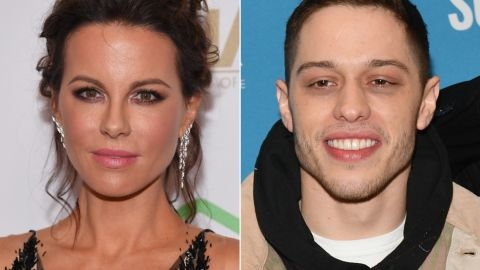 Kate Beckinsale has been responding to people commenting about Pete Davidson.