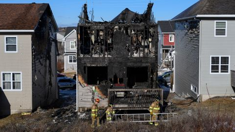 All seven of the Barho children died in a fire at this home in Halifax.