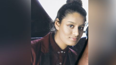 Shamima Begum left London in 2015 to join ISIS in Syria.