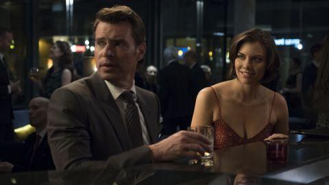 Scott Foley, Lauren Cohan in 'Whiskey Cavalier' (ABC/Larry D. Horricks)