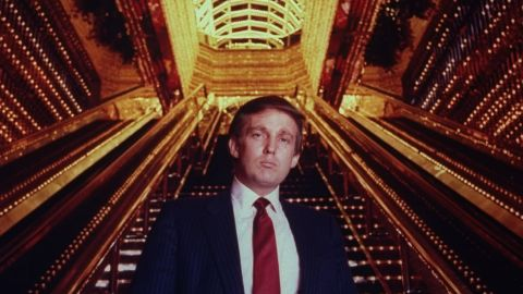 Donald Trump in Trump Tower atrium in 1989.  (Photo by Ted Thai/The LIFE Picture Collection/Getty Images)
