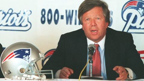 Robert Kraft paid $172 million for the New England Patriots in 1994. The franchise is worth $3.7 billion today.
