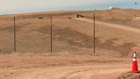 Authories are searching the Midway Landfill in Fountain, Colorado for the remains of Kelsey Berreth.
