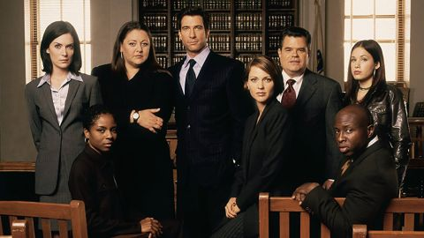 """<strong>""""The Practice"""" Season 1-9:</strong> The exploits of a group of defense attorneys at a Boston law firm formed the basis of this drama series. <strong>(Amazon Prime)</strong>"""
