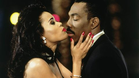 """<strong>""""Boomerang"""": </strong>Robin Givens and Eddie Murphy star in this film about an advertising executive and womanizer who has the tables turned on him. <strong>(Amazon Prime, Hulu) </strong>"""
