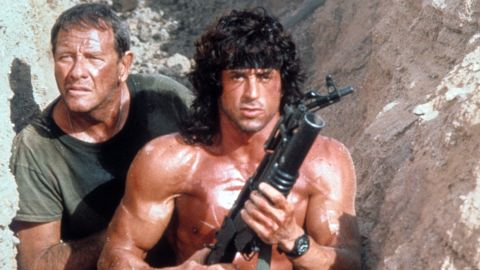 """<strong>""""Rambo III""""</strong>: Sylvester Stallone reprises his role as Vietnam vet John Rambo in this action film that was part of a successful franchise. <strong>(Amazon Prime)</strong>"""