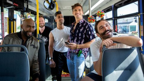 """<strong>""""Queer Eye"""" Season 3</strong>: The Fab Five hit the road and head to Kansas City, Missouri, for another season of emotional makeovers and stunning transformations. <strong>(Netflix) </strong>"""