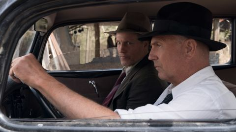 """<strong>""""The Highwaymen"""":</strong> Woody Harrelson  (Maney Gault) and Kevin Costner (Frank Hamer) star in this film that follows the  true story of the legendary detectives who brought down Bonnie and Clyde. <strong>(Netflix) </strong>"""
