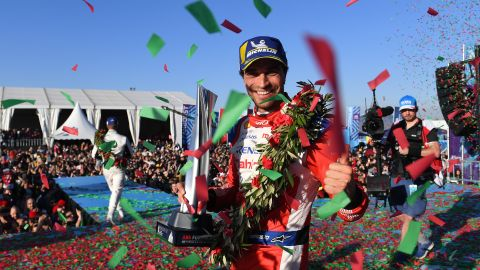 Jerome d'Ambrosio followed up his podium finish in Saudi Arabia with victory in Marrakesh -- his third in Formula E -- to take an early lead at the top of the championship.