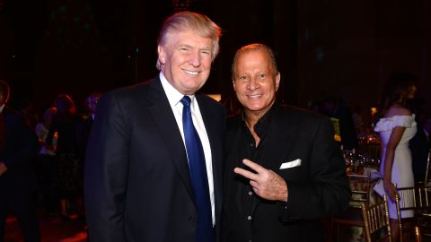 """Donald Trump and Stewart Rahr attend """"An Evening of Wishes"""", Make-A-Wish Metro New York's 30th Anniversary Gala at Cipriani, Wall Street in 2013 in New York City."""