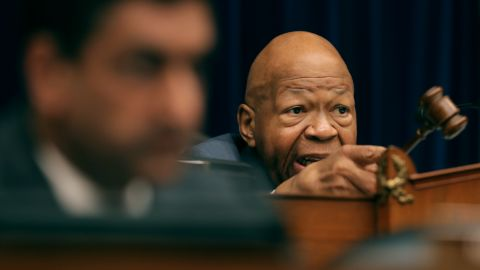 WASHINGTON, DC - FEBRUARY 27: Rep. Elijah Cummings (D-MD) chairs the House Oversight Committee as Michael Cohen, former attorney and fixer for President Donald Trump testifies on Capitol Hill February 27, 2019 in Washington, DC. Last year Cohen was sentenced to three years in prison and ordered to pay a $50,000 fine for tax evasion, making false statements to a financial institution, unlawful excessive campaign contributions and lying to Congress as part of special counsel Robert Mueller's investigation into Russian meddling in the 2016 presidential elections. (Photo by Chip Somodevilla/Getty Images)