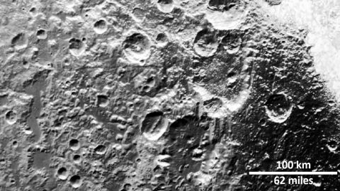 New Horizons images revealed that craters on Pluto and Charon were made by small Kuiper Belt objects.
