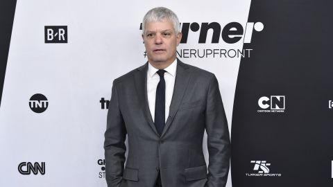 Turner president David Levy attends the 2018  Turner Networks Upfront.
