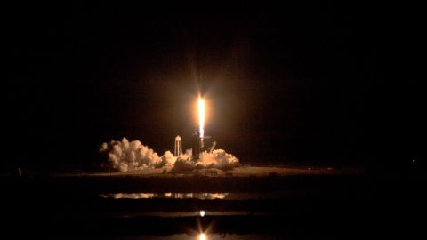 A two-stage SpaceX Falcon 9 rocket lifts off from Launch Complex 39A at NASA's Kennedy Space Center in Florida for Demo-1, the first uncrewed mission of the agency's Commercial Crew Program. Liftoff was at 2:49 a.m., March 2, 2019. The SpaceX Crew Dragon's trip to the International Space Station is designed to validate end-to-end systems and capabilities, leading to certification to fly crew. NASA has worked with SpaceX and Boeing in developing the Commercial Crew Program spacecraft to facilitate new human spaceflight systems launching from U.S. soil with the goal of safe, reliable and cost-effective access to low-Earth orbit destinations, such as the space station.
