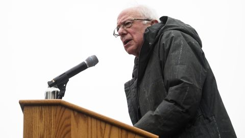 US Senator Bernie Sanders addresses a rally to kick off his 2020 US presidential campaign on March 2, 2019 in the Brooklyn borough of New York City. (Photo by Johannes EISELE / AFP)        (Photo credit should read JOHANNES EISELE/AFP/Getty Images)