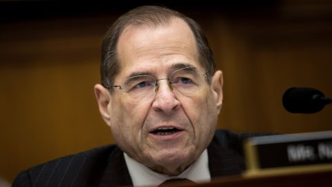 U.S. Rep. Jerrold Nadler (D-NY) speaks during a House Judiciary Subcommittee hearing on the proposed merger of CVS Health and Aetna, on Capitol Hill, February 27, 2018 in Washington, DC. CVS Health is planning a $69 billion deal to acquire Aetna, an American healthcare company.