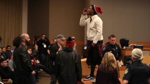 Activists disrupt the Sacramento city council meeting.