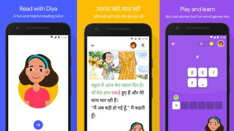 Bolo is currently available in English and Hindi, India's most popular language.