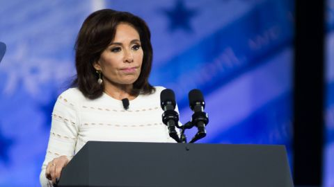Jeanine Pirro during the Conservative Political Action Conference at the Gaylord National Resort and Convention Center February 23, 2017 in National Harbor, Maryland. Hosted by the American Conservative Union, CPAC is an annual gathering of right wing politicians, commentators and their supporters.   (Photo by Zach D Roberts/NurPhoto via Getty Images)