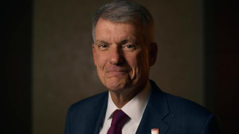 DENVER, CO - NOVEMBER 8: Tim Sloan, president and chief executive officer of Wells Fargo & Co., in Denver. November 8, 2018. (Photo by Hyoung Chang/The Denver Post)