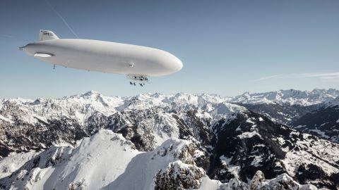 Zeppelin-skiing landscape, Austria