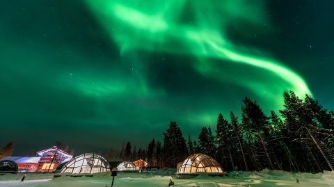 <strong>Finland's famous Northern Lights. </strong>Many visitors come to Finland to spot the Aurora Borealis. Although there's never a guarantee you'll spot them, tourism officials say the active seasons are autumn and spring.