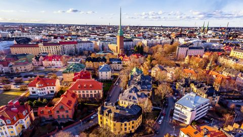 <strong>1. Finland.</strong> This Nordic country is the happiest country in the world for a second year in a row, and its capital city of Helsinki, shown here, is one of the coolest (in the weather sense and the fashionable sense) capitals in the world.