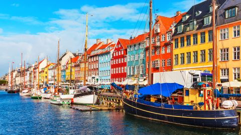 <strong>2. Denmark.</strong> While Copenhagen is internationally well-known for Noma, with its two Michelin stars, Danes are perfectly happy to eat at other fine dining establishments or to buy one those famous Danish hot dogs and stroll the streets of Nyhavn.