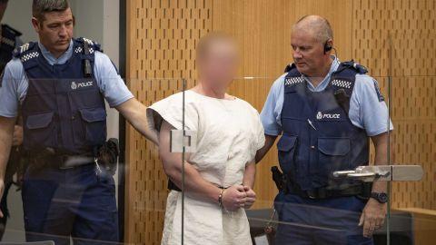 Brenton Tarrant appears in court