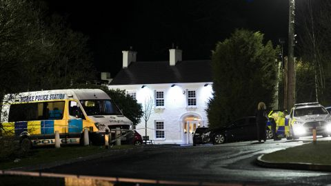 Police say teenagers were waiting to enter a disco at the Greenvale Hotel in Cookstown, County Tyrone.