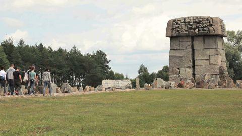 Borussia Dortmund supporters visited Treblinka.