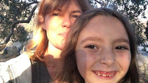 Vanessa McGrady with her daughter Grace.