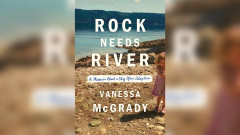"""McGrady's book, """"Rock Needs River: A Memoir About a Very Open Adoption,"""" came out in February."""